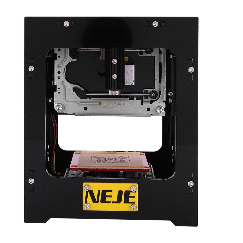 1000mW / 1500mW Dual USB Micro Lasergravierer Graviermaschine Gravurwerkzeug Drucker Maker fü r Win 7, XP, Win 8, Win 10 ((DK-8-FKZ1500mW)) Fdit