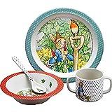 Petit Jour Peter Rabbit Service de table 4 pièces Coffret cadeau