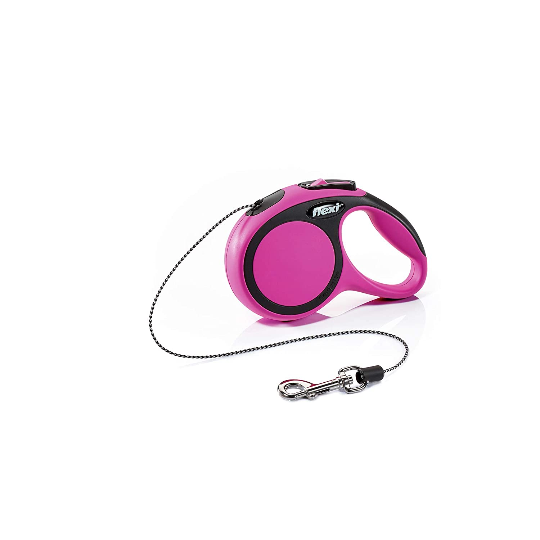 Flexi New Comfort Retractable Cord Lead X-small 3 M Pink
