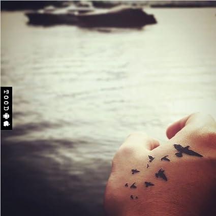 Tatuaje Temporal de Pájaro divergente (2 Piezas) - www.ohmytat.com ...