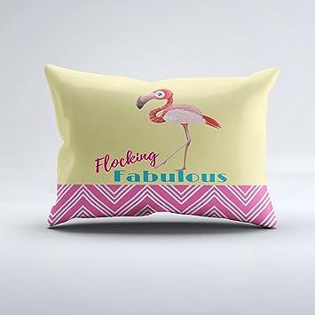 Amazon.com: Fundas de almohada con cremallera, un lado, 12.0 ...