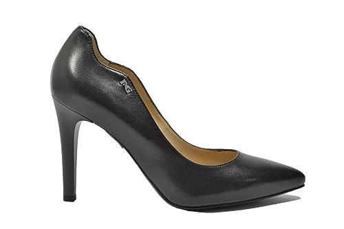 76688a6e2c Nero Giardini Décolleté Scarpe Donna Nero 9680 Elegante A719680DE 39:  Amazon.it: Scarpe e borse