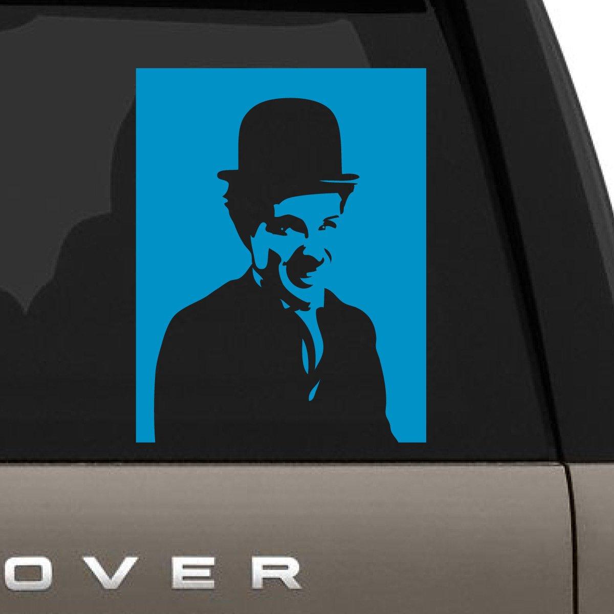 卸売 Charlie Charlie Chaplin Smiling車デカール B07235MX7P、Die Cut for Vinyl Decal for Windows車、トラック、ツールボックス、ノートパソコン、ほぼすべてmacbook-ハード、滑らかな表面 8