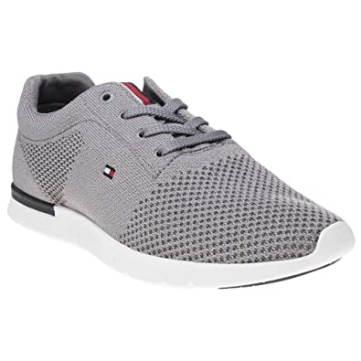 fcd5a4ff Tommy Hilfiger Tobias Trainers Grey 10.5 UK: Amazon.co.uk: Shoes & Bags