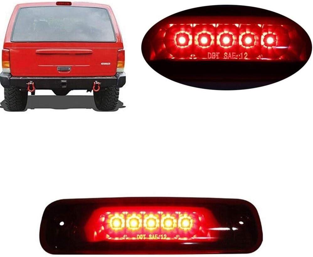 Nologo XSHUIQUAN 12-24V 18W /Étanche Rouge Frein LED for Cherokee XJ 2.5L 4.0L Car Light Accessoires
