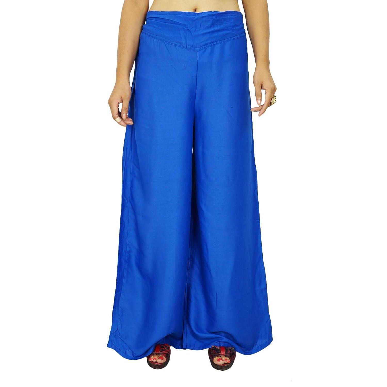 Rayon elastischen Pluderhosen Gypsy Hose löst Frauen Hosen Strand Pyjamas