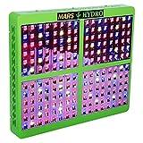 MarsHdyro Reflector 48 96 144 192 LED Grow Light Veg Flower Switchable Spectrum (Reflector192 with 410W True Watt Panel)