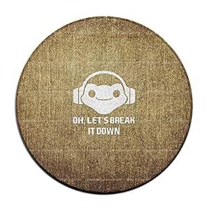 Let 's Break It Down antideslizante Felpudo Alfombrilla de suelo para el hogar