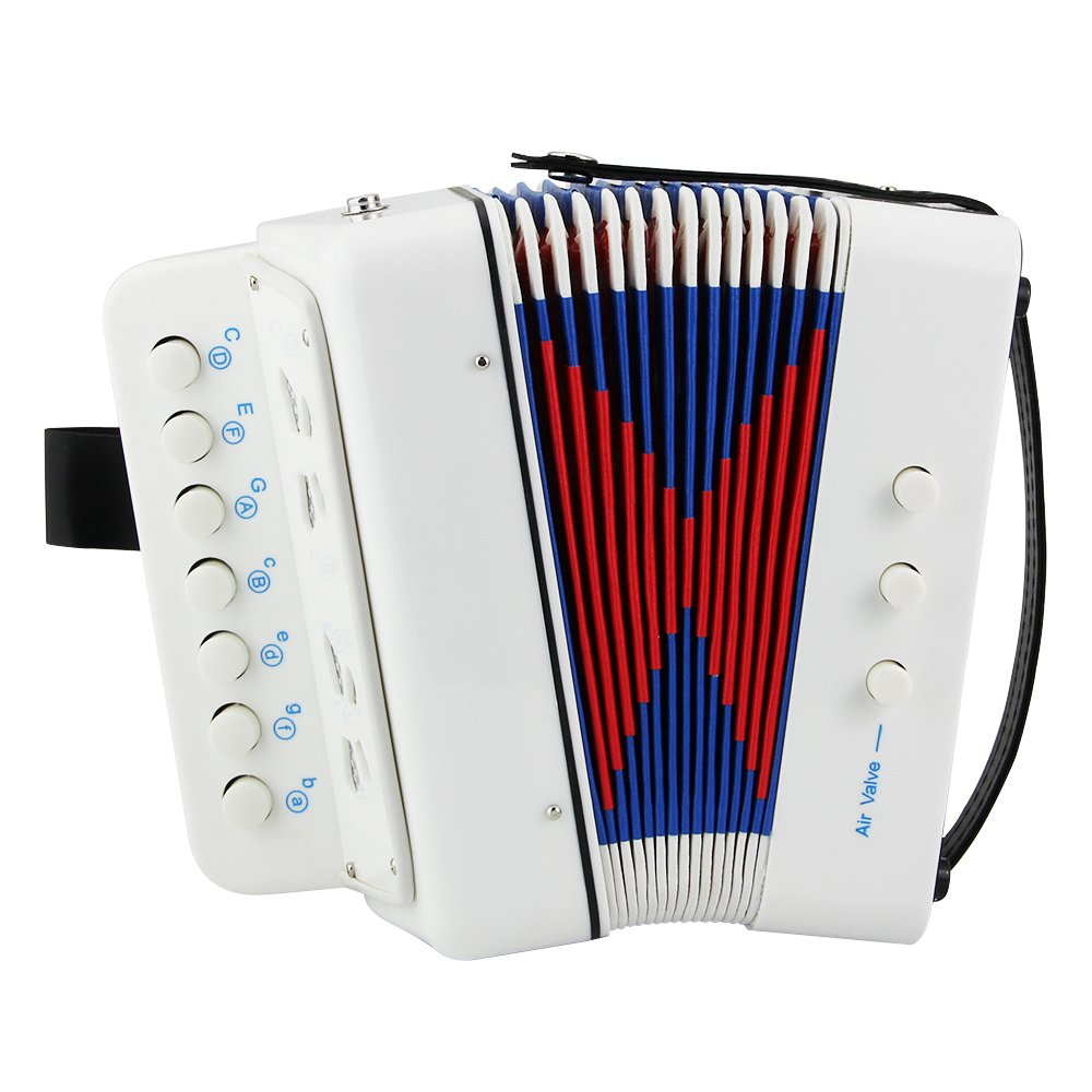 Kid's Accordion,Htianc Accordion Kid's Accordion Solo and Ensemble Instrument,Educational Musical Instrument Toy for Kids Children Amateur Beginner