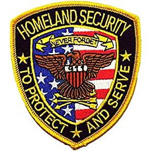 Homeland Security Patch 3 5/8""