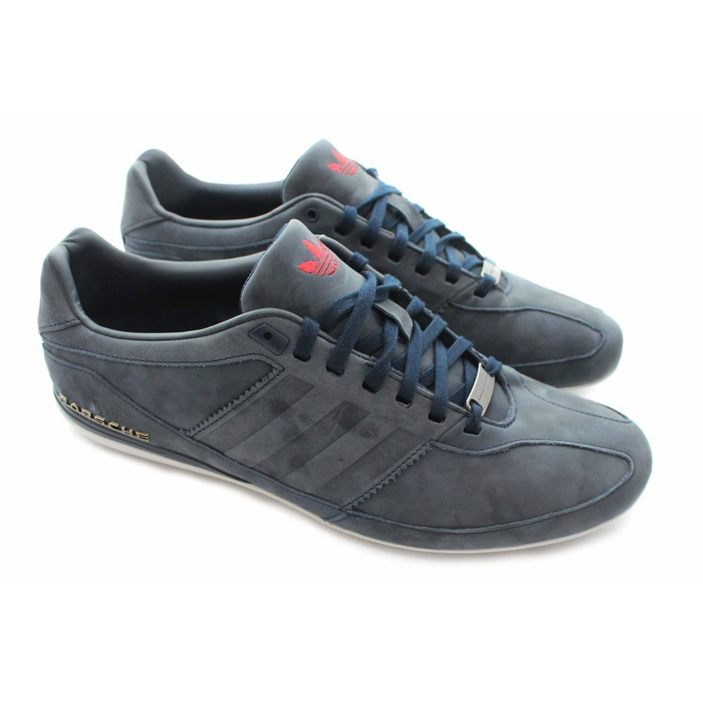premium selection 79efc 3255b Adidas Originals Porsche Design Typ 64 Suede Trainers in Navy Blue M20593   UK 7.5 EU 41 1 3   Amazon.co.uk  Shoes   Bags