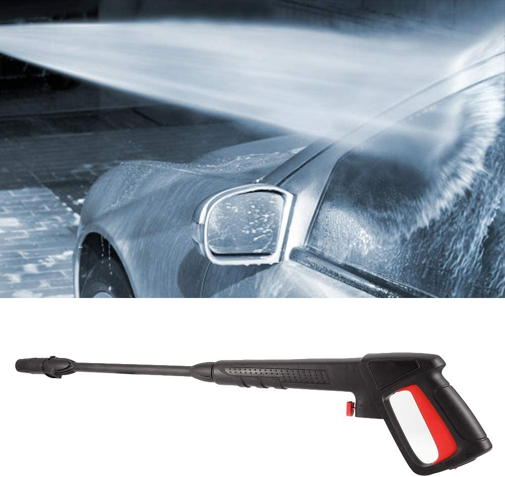 KSTE 16Mpa High Pressure Washer Clip-on Spray Water Jet Fit for Bosch AQT Black/&Decker