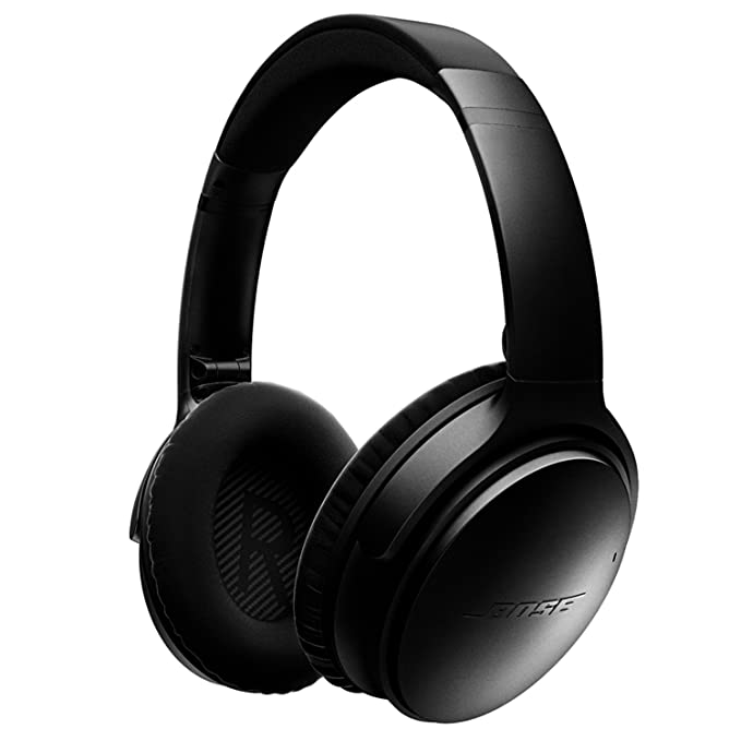 ef1bec74930 Bose QuietComfort 35 (Series I) Wireless Headphones, Noise Cancelling -  Black: Amazon.co.uk: Hi-Fi & Speakers
