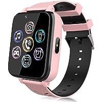 Smartwatch voor kinderen, horloge telefoon voor meisjes en jongens, touchscreen met muziekspeler, spel, camera…