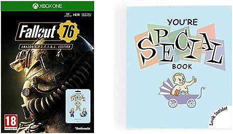 Fallout 76: S.P.E.C.I.A.L. Edition (Game + Set of 7 Pin Badges ...