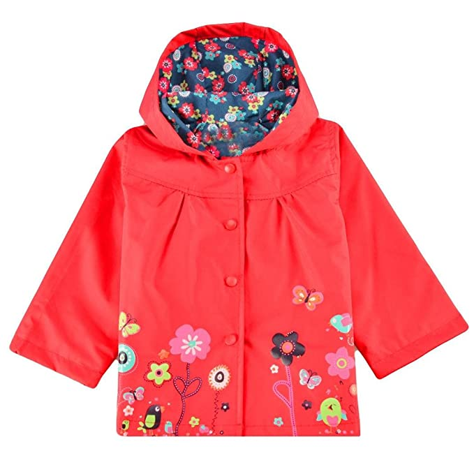 a061a567e Amazon.com  Fanala Kids Rain Coat Girls