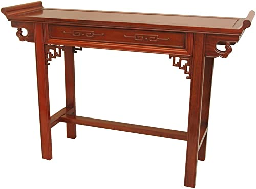 Oriental Furniture Rosewood Qing Hall Table – Honey