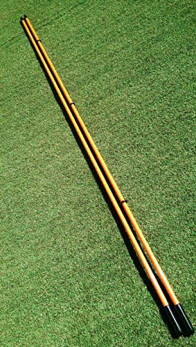 Golfnsticks Golf Alignment Sticks 2 Pack Alignment Rods