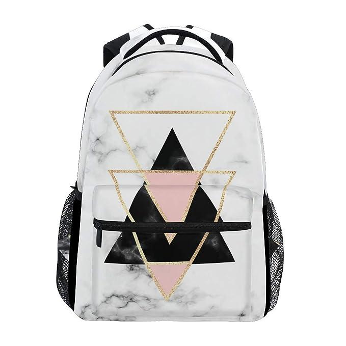 Mochila geométrica de piedra de mármol para laptop ...