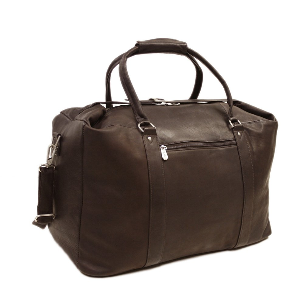 Piel Leather European Carry-On, Chocolate, One Size