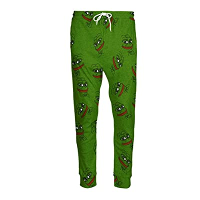 3D Pepe Joggers Unisex Cartoon Sweat Pants Fashion Sweatpants Autumn Fall Winter Style Trousers