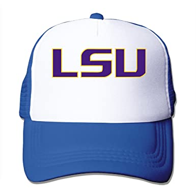 f0ceee42868c CCbros Louisiana State University LSU Running Mesh Back Hat Caps One Size  Fit All RoyalBlue