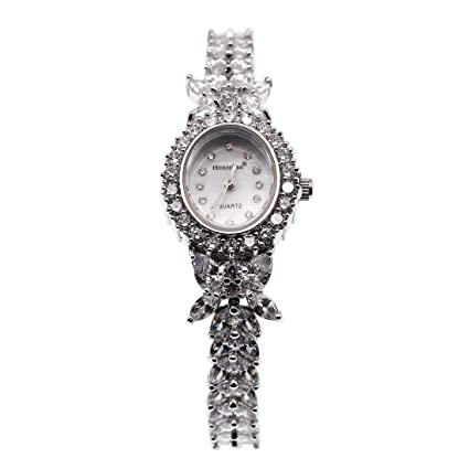 Amazon.com: Royal Crown Womens Ladies Jewelary Watch 2527B silver Silver Dial Stainless Steel Watch: Watches