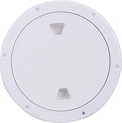 9.84/'/' Boat Round Non Slip Inspection Hatch with Detachable Cover 250mm US Ship