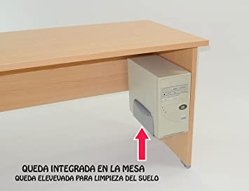 Actiu - Soporte para CPU colgado Regulable - Color Gris: Amazon.es ...