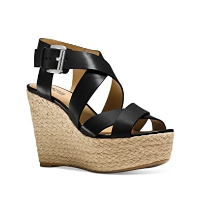 8c2e5beb8da Michael Michael Kors Women s Celia Wedge Sandals