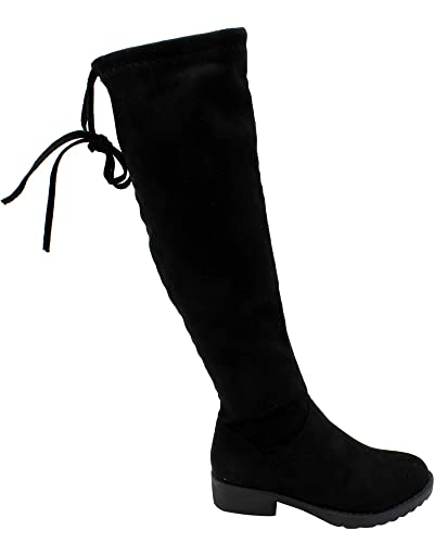 f7edecf6fc8 Top Moda Girls Over The Knee Boots - Black