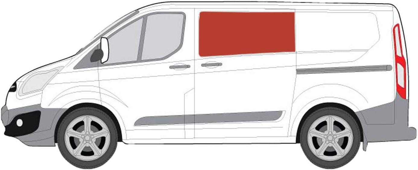 Mano izquierda ventana de apertura transparente para puerta corredera kit Ford Transit Custom: Amazon.es: Coche y moto