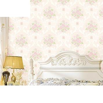 Tapete/Wohnzimmer Garten Rosa Vlies Tapete/Schlafzimmer Tapete/warme Schlafzimmer  Tapeten