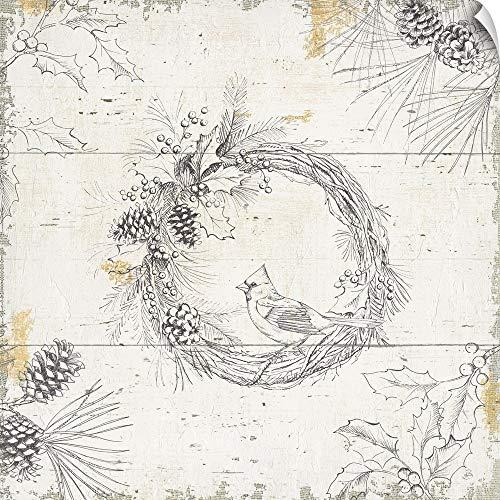 CANVAS ON DEMAND Wild and Beautiful XII Wall Peel Art Print, 35