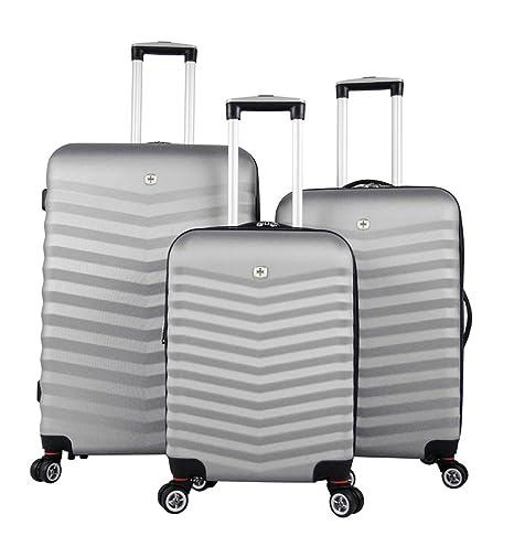 Wenger Juego de maletas, gris (Gris) - 2044372