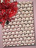 30'' X 100' Baseballs Gift Wrap