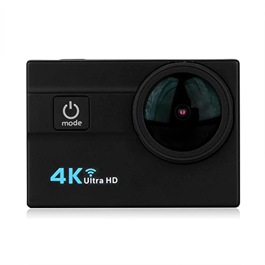 "146 opinioni per Excelvan Q6H- Action Cam WiFi 4K 25FPS FHD 1080P 173 ° Grandangolare 2.0"""