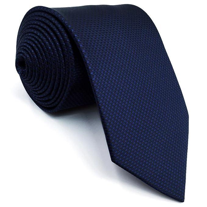 Shlax&Wing Corbata Flaca Corbatas Mens Corbata Flaca Color Sólido ...