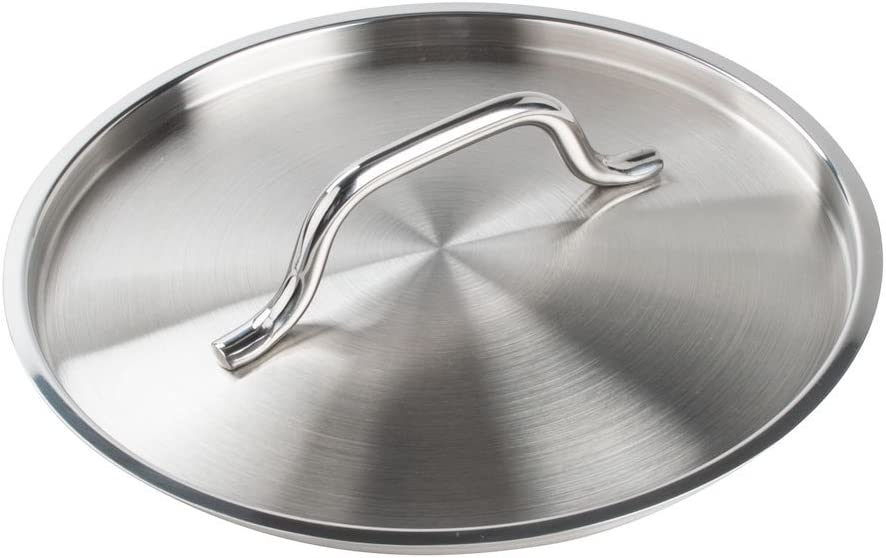 Thunder Group Stainless Steel Stock Pot Lid, 13-Inch