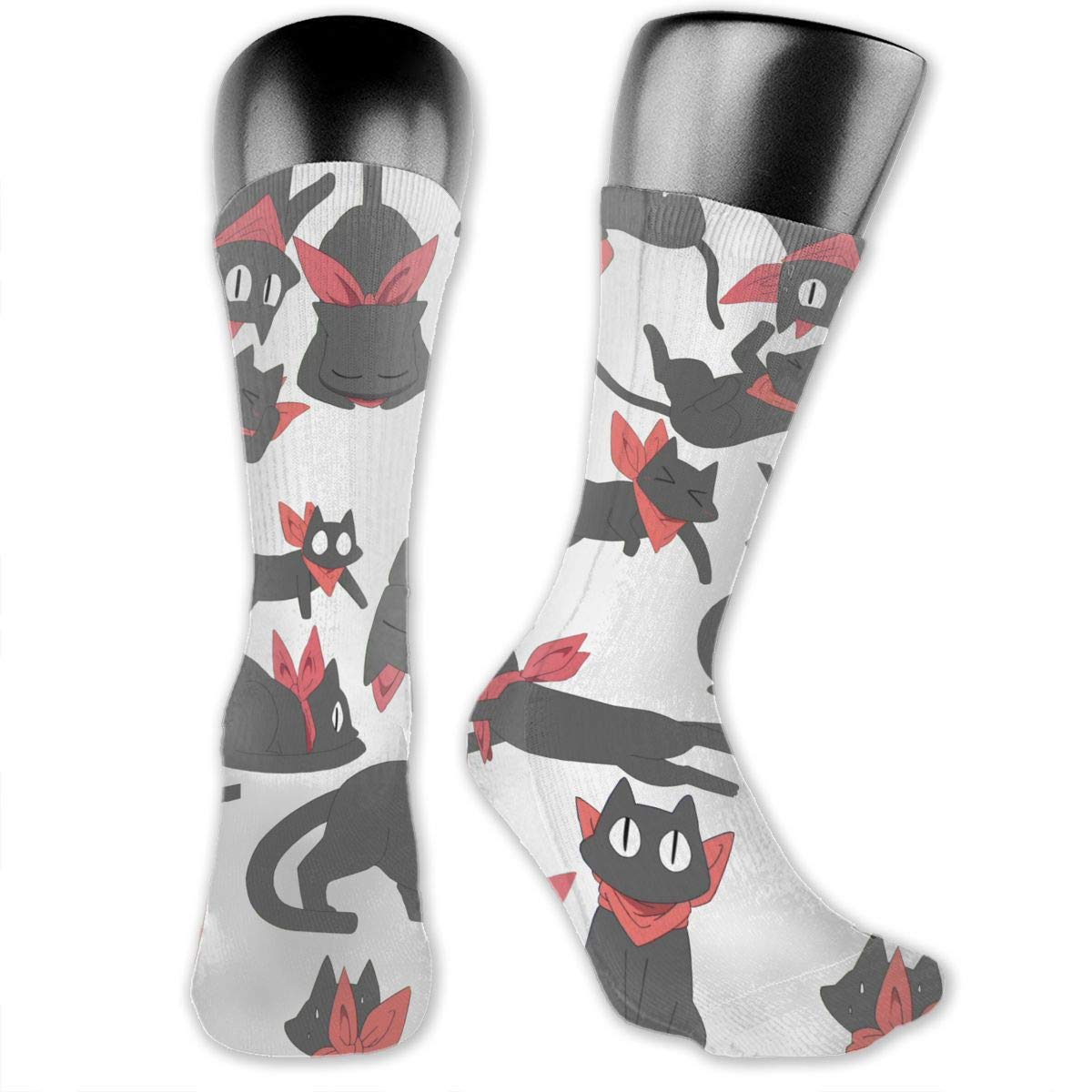 OLGCZM Sakamoto Cat Men Womens Thin High Ankle Casual Socks Fit Outdoor Hiking Trail