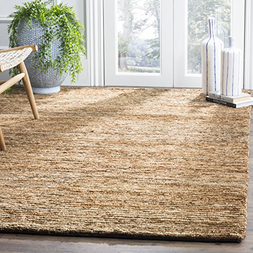 Safavieh Organica Collection ORG214A Hand-Knotted Natural Wool Area Rug (8' x 10') Fine Sisal Rug