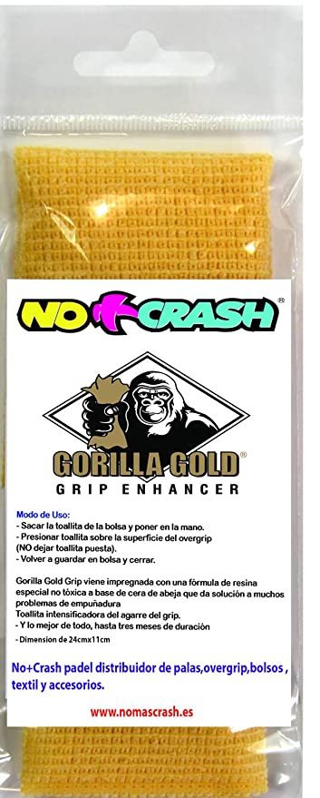 No+Crash Gorilla Gold Mini: Amazon.es: Deportes y aire libre
