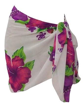LA LEELA Bikini Playa Pareo Falda del Abrigo Bufanda Mujeres ...