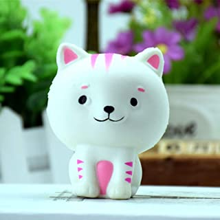 Formulaone Slime Toys Cat Shape Small Squishy Slow Rising Squeeze Phone Cinghie Ballsin Decompression Toys Palla Antistress