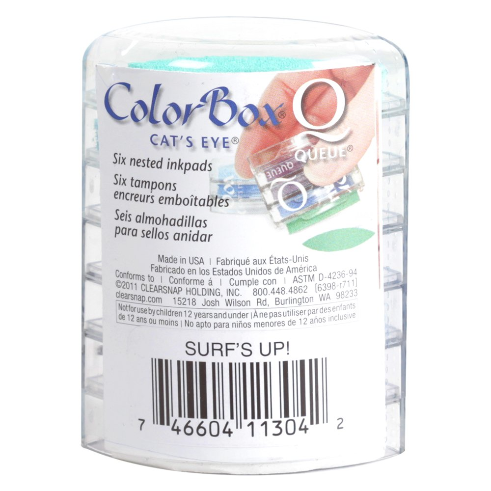 Clearsnap ColorBox Classic Pigment Queue Ink Pad Fiesta