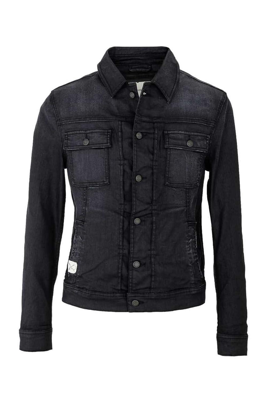 Drykorn Denim Jacket CLYDE, Color: Dark blue