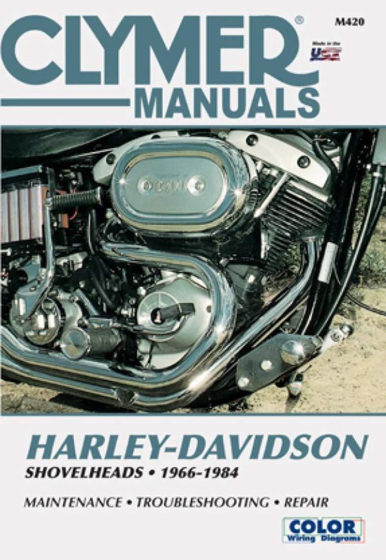 HARLEY-DAVIDSON SHOVELHEADS FL, FXE, FLH, FXEF, FXB, FX REPAIR SHOP &  SERVICE MANUAL For Years 1974, 1975, 1976, 1977, 1978, 1979, 1980, 1981,  1982, 1983 & 1884 - THE BEST MANUAL AVAILABLE: CLY: Amazon.com: Books | 1980 Fxef Shovelhead Wiring Diagram |  | Amazon.com
