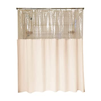 Amazoncom Sourcing Solutions Clearview Privacy Shower Curtain