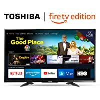$279 Get TOSHIBA 50LF711U20 50-inch 4K Ultra HD Smart LED TV HDR - Fire TV Edition