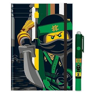 Lego 51865Carnet avec stylo à secrets Ninjago Movie, DIN A5Couverture rigide